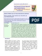 t2dm in Wajo South Sulawesi Indonesia Ridwan Amiruddin, Et Al 2014
