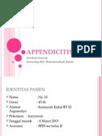 Contoh Appendicitis