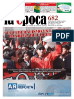 Nº 682 - Especial Federalismo, COMCIPO - Julio 2015