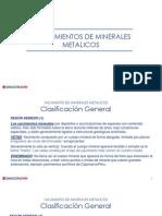 1.2.Yacimientos Minerales Metalicos