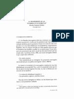 La Transposicion en Las Interrogativas Indirectas - Salvador Gutiérrez Ordóñez