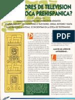 ¿Monitores de Television en La Epoca Prehgispanica R-080 Nº035 Reporte Ovni - Vicufo2