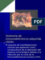Síndrome de Inmunodeficiencia Adquirida (SIDA):