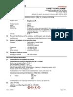 Bisphenol-A MSDS