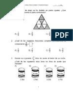 Examen-fracciones y Porcentajes