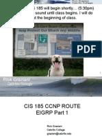 cis185-ROUTE-lecture2-EIGRP-Part1.ppt