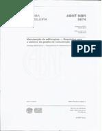 NBR-05674-2012 - Manutenção de Edificações - Requisitos Para o Sistema de Gestão Da Manutenção