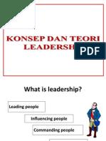 Konsep & Teori Leadership