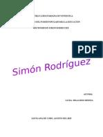 Ensayo Simon Rodriguez