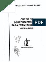 Curso de Derecho Procesal Correa Selamé