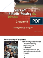 pfeiffer 5 ppts chapter05 - the psychology of injury (student copy)