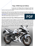 Kawasaki Ninja 150RR Special Edition