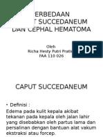 Caput Succedaneum Dan Cephal Hematoma