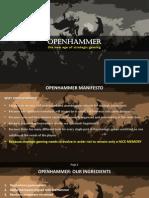 Openhammer Manifesto (en)