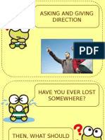 Asking and Giivng Direction in EFL Context