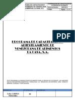Programa de Capacitacion de La Region de Barinas, Cojedes y Portuguesa