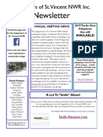 St Vincent Island Friends Newsletter