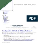 Configuración Del Android NetBeans 7 « Tarjuccino