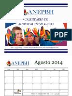 Calendario ANEPBH 2014-2015