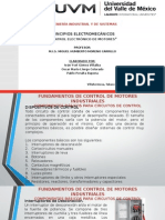 Exposicion de Principios Electromecanicos Terminada