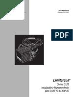Actuador Limitorque Series L120