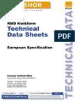 MegaShor Technical Data