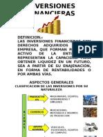 INVERSIONES FINANCIERAS