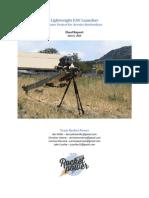 Lightweight UAV Launcher