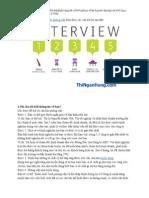 Bí Quyết Chinh Phục Nhà Tuyển Dụng Với 64 Câu Hỏi Phỏng Vấn Và Trả Lời
