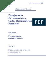 Planejamento Governamental Unidade 1 Aula2 2015