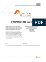 Avonite Fabrication Guide 052015 VI