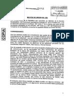 Moción de Orden del Día, para investigar pago de sobornos de empresas brasileñas en el Perú y en diversos gobiernos.