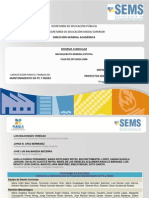 definicion y administracion de proyectos programa de estudios
