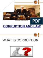 Corruption and Law