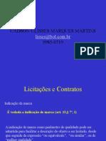 Licitações e Contratos I