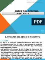 1... Fuentes y Conceptos Del Derecho Mercantil