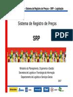 Sistema de Registro de Preços - SISRP - Legislao