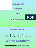 Integers & Absolute Value Introduction.pptx
