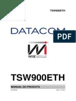 TSW900ETH_4_0 - Manual Do Produto