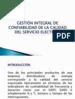 Gestion Integral de Confiabilidad de La Calidad Del Servicio Eléctrico