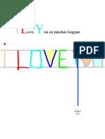 Te Amo Con Muchas Lenguas