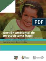 Gestion Ambiental de Un Ecosistema Fragil. Los Bosques Nublados de San Ignacio