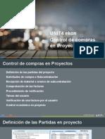 Control de Compras en Proyectos
