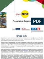 Exito Presentacion Corporativa 2015 Esp