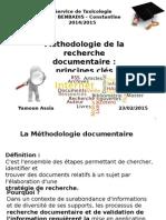 Méthodologie de La Recherche Documentaire