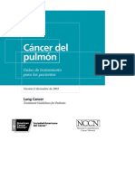 Guía de tratamientos de cáncer de pulmón