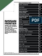 2000 Nissan Frontier KA24DE    fwd