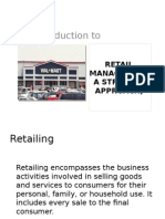 Retail Marketing 1