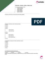 Quimica Lista de Exercicios Para Recuperacao 1 Sem