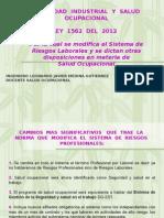 Ley 1562 de 2012 Finales